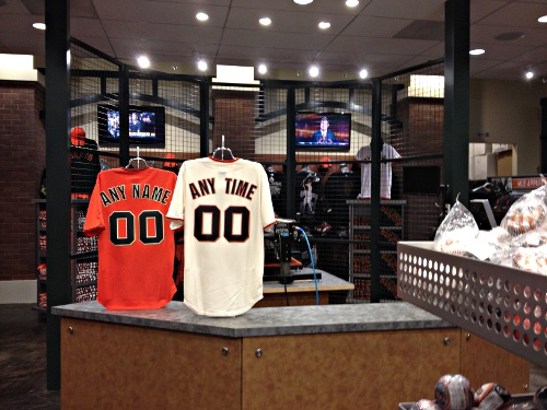 pretty nice b8c03 04f39 Judging Stores: SF Giants Dugout – Beyond the Creek