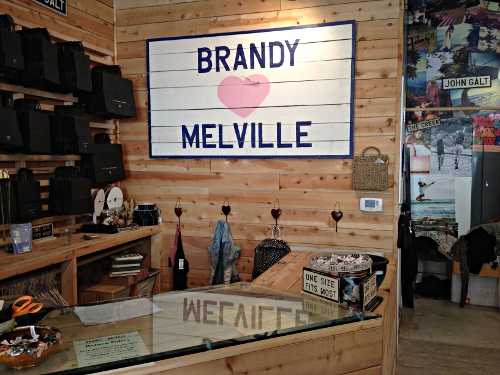 Clothing stores similar to brandy melville