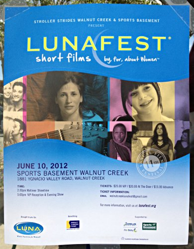 lunafest short films at sports basement in walnut creek