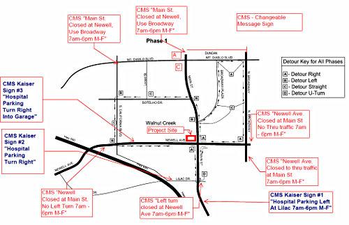 kaiser california map, kaiser redwood city map, kaiser san leandro map, on kaiser walnut creek map