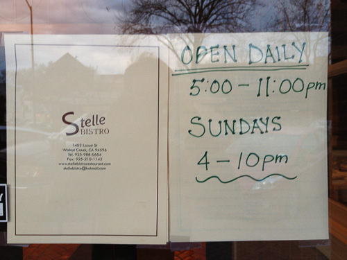 stelle-bistro-walnut-creek-hours