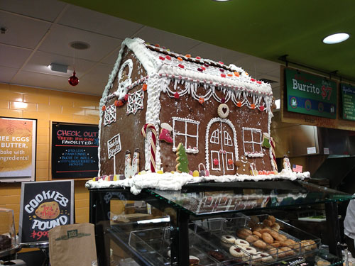 Whole Foods Gingerbread House Kit