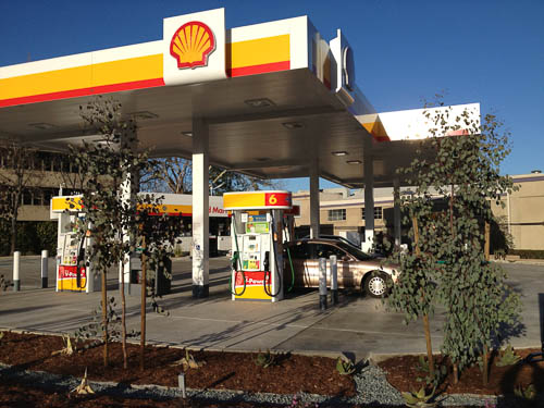 Shell Gas Station Reopens In Walnut Creek Beyond The Creek