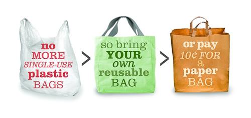 Walnut Creek to Ban Plastic Bags Beginning this Fall