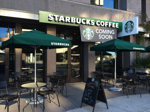 Starbucks Opens At Mercer Apartments In Walnut Creek