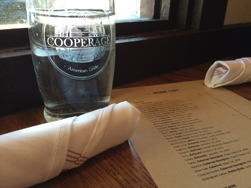 cooperage-water