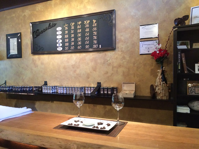 pieces-of-chocolate-danville-inside-wine-glasses-bar