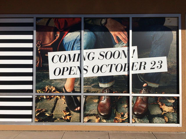 dsw-pleasant-hill-coming-oct-sign-1