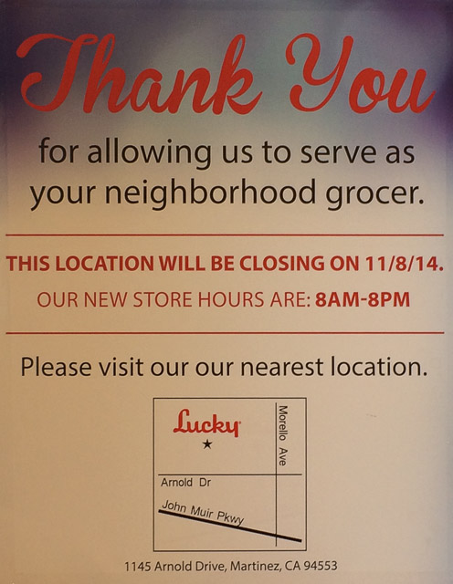 lucky-pleasant-hill-closing-sign