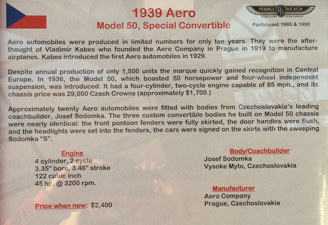 aero-1939-danville-auto-museum-description