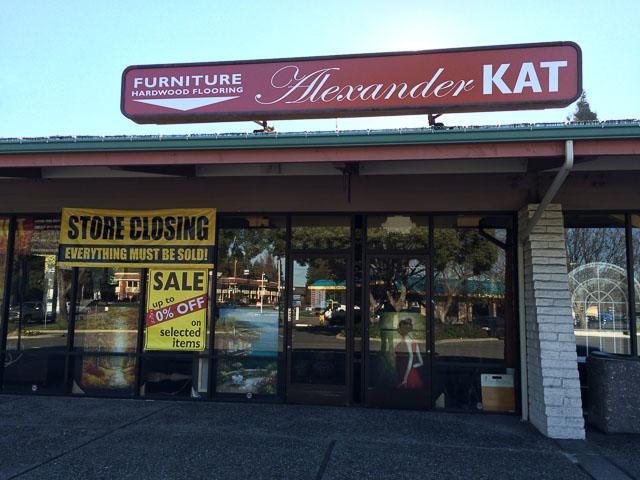 Alexander Kat Furniture Walnut Creek Outside Closing