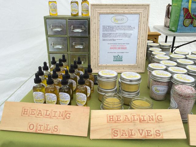 hollies-homegrown-moraga-farmers-market-oils
