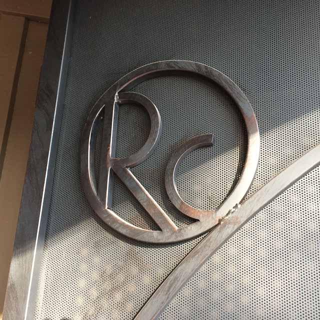 rancho-cantina-lafyaette-metal-initials