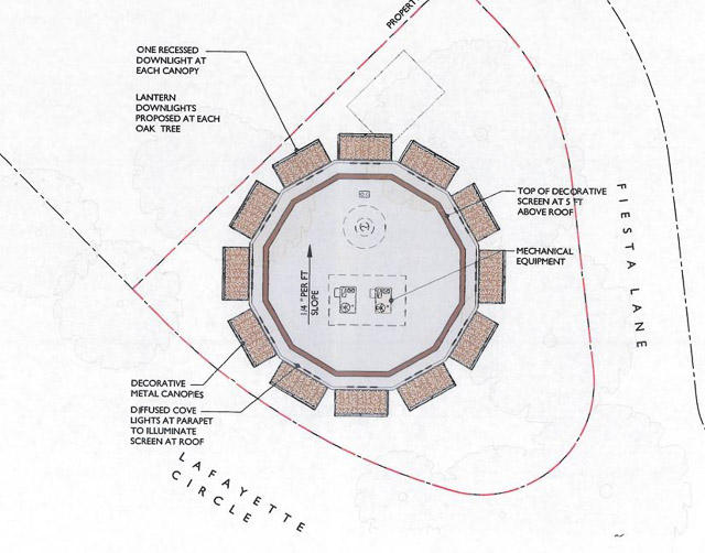 retail-dodecagon-lafayette-rendering-top