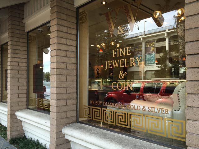 V v fine jewelry coin opens in walnut creek beyond for Pleasant hill coin and jewelry