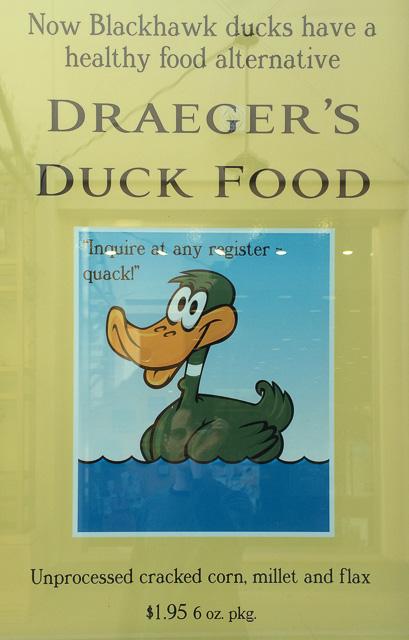 blackhawk-ducks-feed-sign