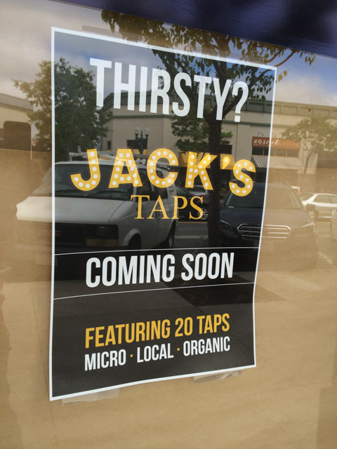 jacks-taps-pleasant-hill-coming-soon-sign