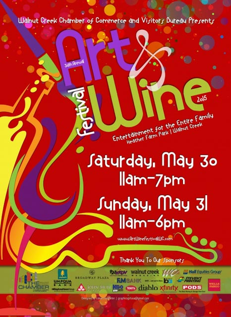 Art & Wine Festival at Heather Farm Park in Walnut Creek ...