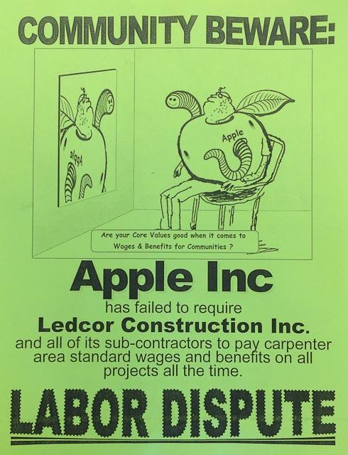 apple-protest-labor-dispute-walnut-creek