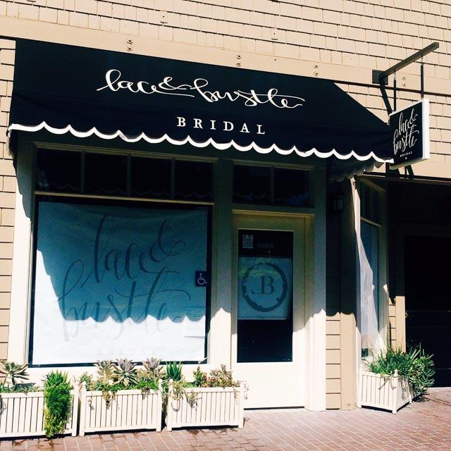 lace-bustle-bridal-lafayette-signage