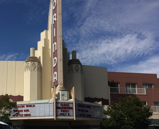 orinda theatre outside
