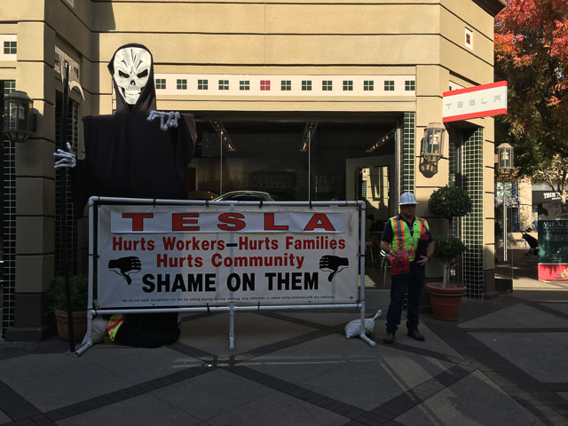 tesla-macerich-protest-outside