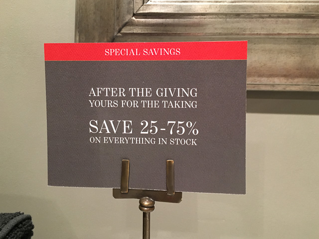 Everything Stock Restoration Hardware