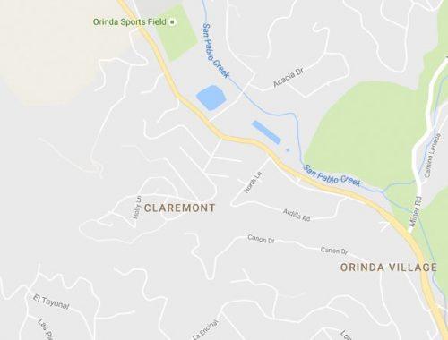 gmaps-orinda-claremont