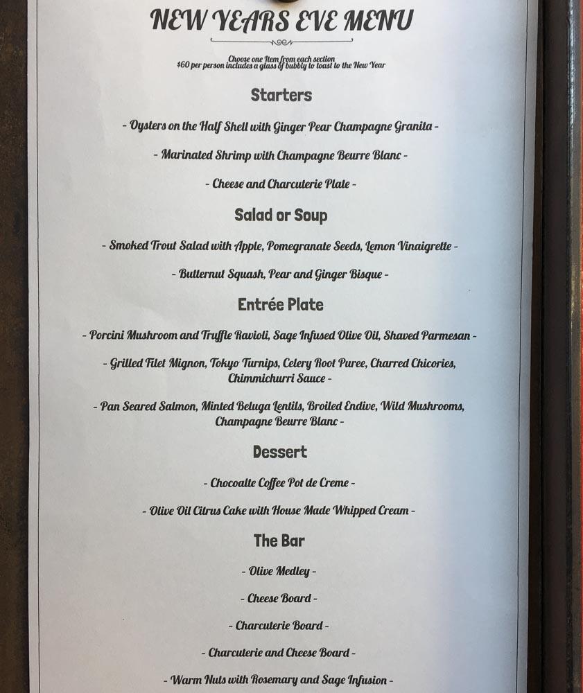 Wild Magnolia Opens In Orinda Theatre Square Beyond The Creek - Table 24 menu
