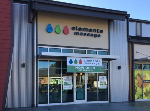 Elements massage opens in orchards shopping center in for 13 salon walnut creek