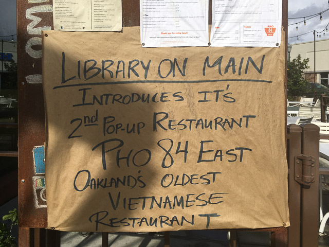 Pho 84 East Pop Up Opens In Library On Main In Walnut Creek Beyond The Creek