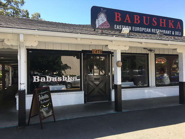 Babushka Restaurant Reopens in Walnut Creek – Beyond the Creek