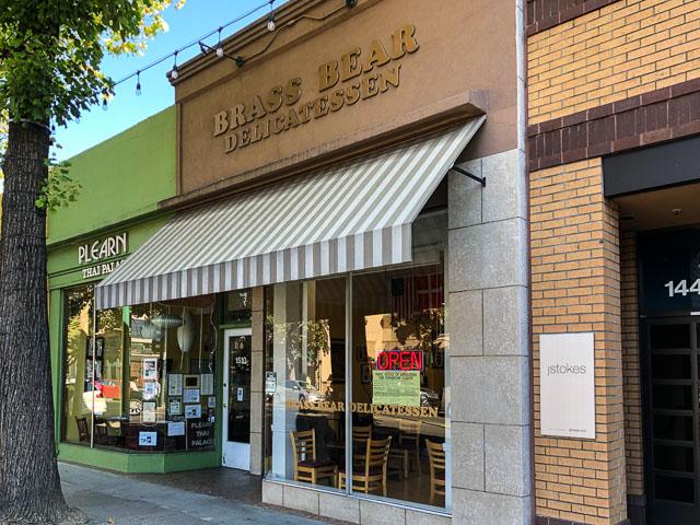 Brass Bear Delicatessen Closing in Downtown Walnut Creek ...
