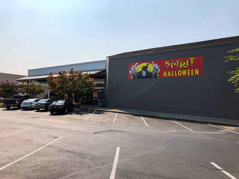 spirit halloween reopening in new spot at willows shopping center in concord