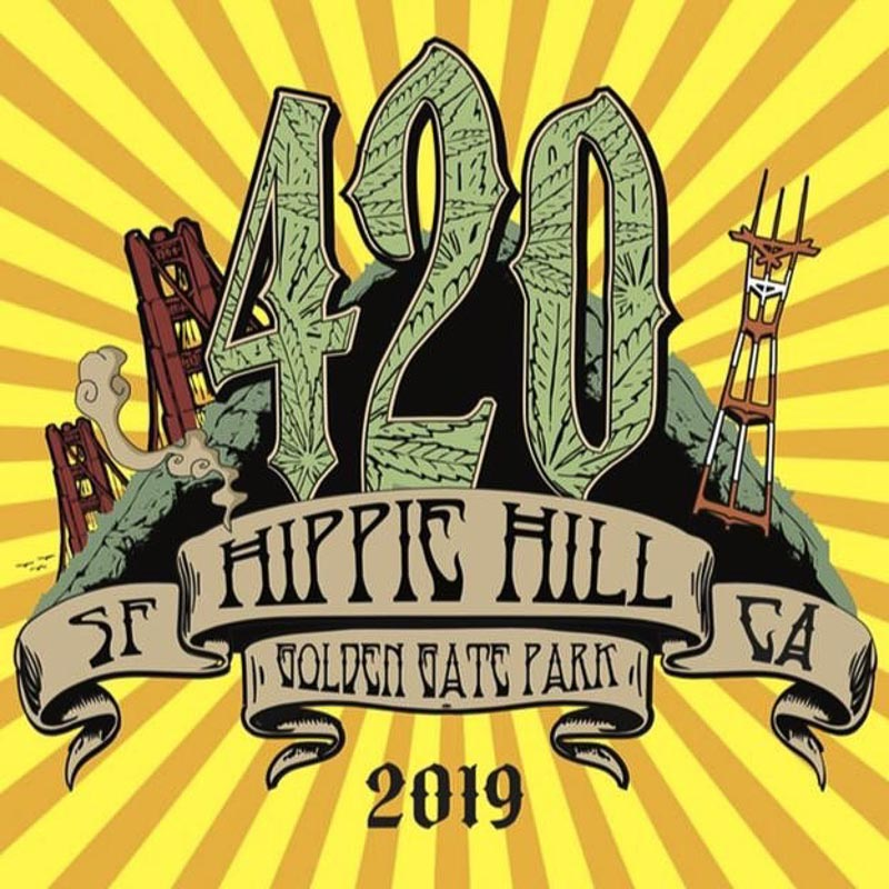 4/20 Hippie Hill Festival at Golden Gate Park in San